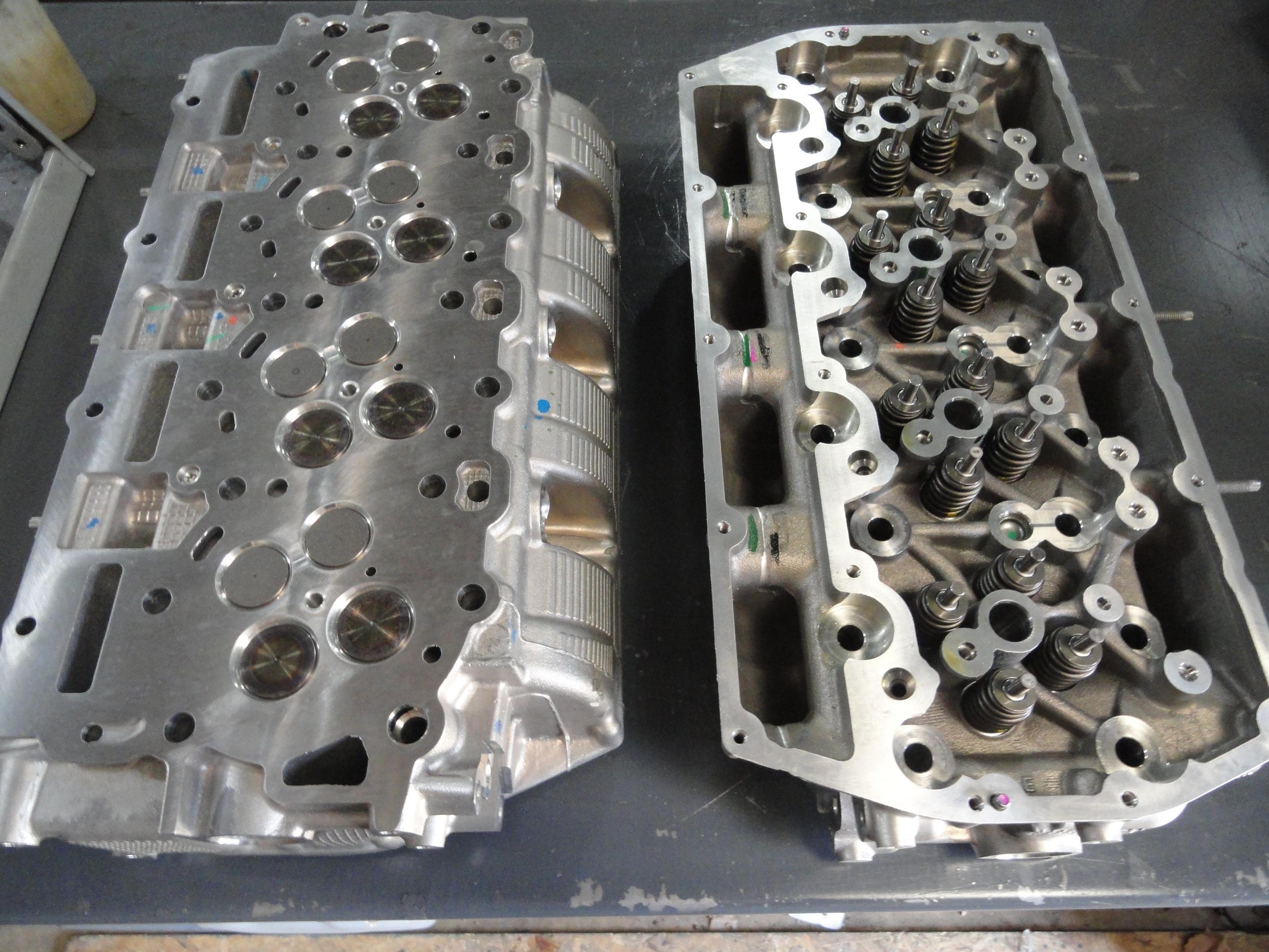 2011 2017 6 7 Powerstroke Cylinder Heads New